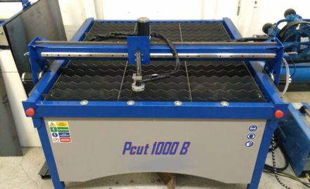 Pcut 1000 B for 2D steel works