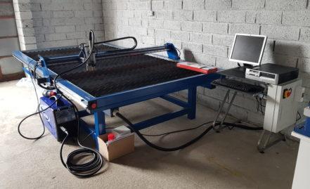 Plasma-cut for 2D steel works